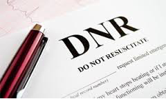 Do Not Resuscitate DNR
