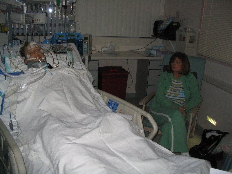My 78 year old Mom has lung cancer and developed an infection! She's in ICU on the breathing tube, can she get off it or will she need a tracheostomy? (PART 5)