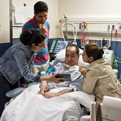 Is it best for my Dad to go from ICU to step-down or should he be going to Rehabilitation straight away?